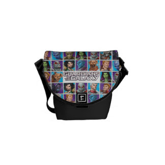 Guardians of the Galaxy | Crew Grid Courier Bags