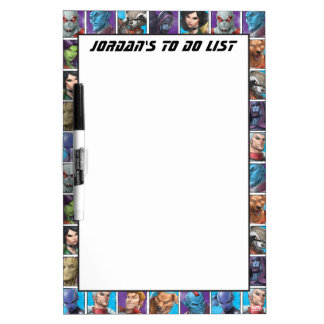 Guardians of the Galaxy | Crew Grid Dry Erase Board