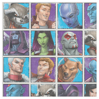 Guardians of the Galaxy   Crew Grid Fabric