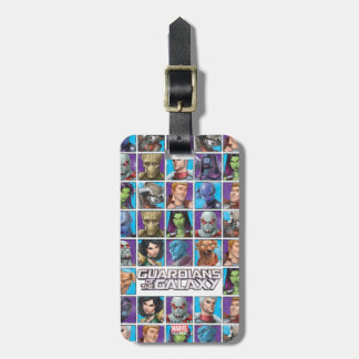 Guardians of the Galaxy | Crew Grid Luggage Tag