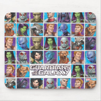 Guardians of the Galaxy   Crew Grid Mouse Pad