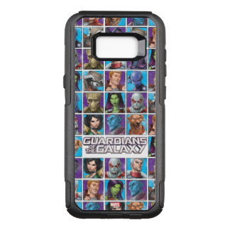 Guardians of the Galaxy   Crew Grid OtterBox Commuter Samsung Galaxy S8+ Case