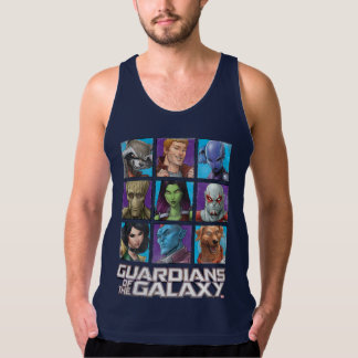 Guardians of the Galaxy | Crew Grid Singlet