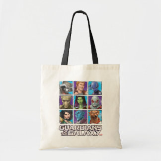 Guardians of the Galaxy | Crew Grid Tote Bag