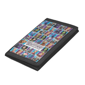 Guardians of the Galaxy | Crew Grid Trifold Wallet