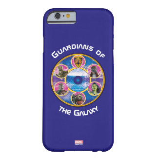 Guardians of the Galaxy | Crew In Neon Circles Barely There iPhone 6 Case