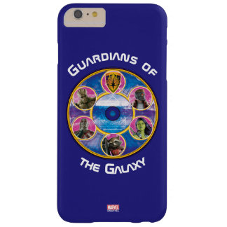 Guardians of the Galaxy   Crew In Neon Circles Barely There iPhone 6 Plus Case