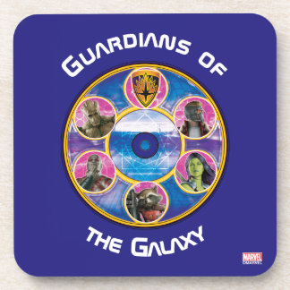 Guardians of the Galaxy | Crew In Neon Circles Coaster