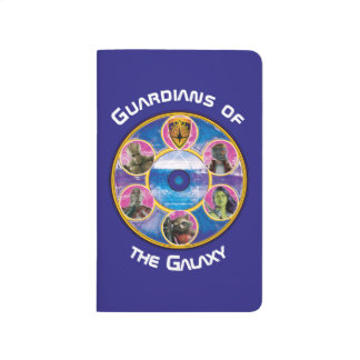 Guardians of the Galaxy | Crew In Neon Circles Journal