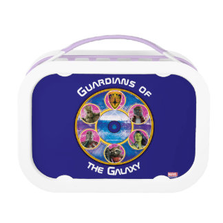 Guardians of the Galaxy | Crew In Neon Circles Lunchbox