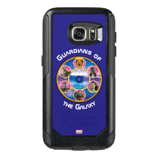 Guardians of the Galaxy | Crew In Neon Circles OtterBox Samsung Galaxy S7 Case