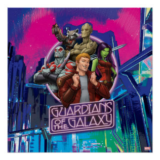 Guardians of the Galaxy | Crew Neon Sign