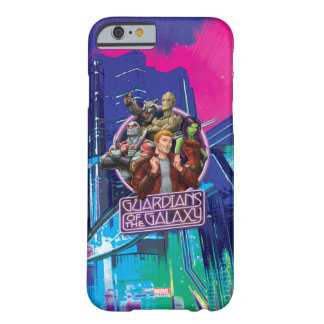Guardians of the Galaxy | Crew Neon Sign Barely There iPhone 6 Case