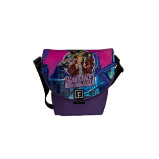 Guardians of the Galaxy | Crew Neon Sign Commuter Bag
