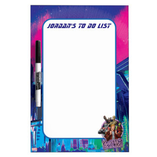 Guardians of the Galaxy | Crew Neon Sign Dry-Erase Whiteboard
