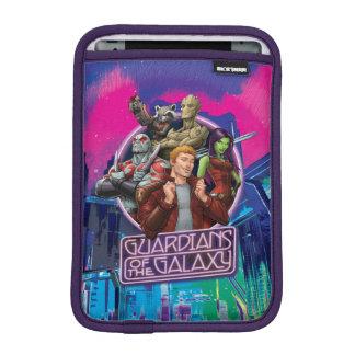 Guardians of the Galaxy   Crew Neon Sign iPad Mini Sleeve