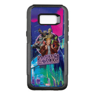 Guardians of the Galaxy   Crew Neon Sign OtterBox Commuter Samsung Galaxy S8+ Case