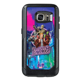 Guardians of the Galaxy | Crew Neon Sign OtterBox Samsung Galaxy S7 Case