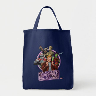 Guardians of the Galaxy | Crew Neon Sign Tote Bag