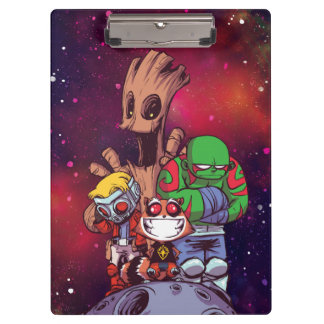 Guardians of the Galaxy | Crew On Asteroid Clipboard