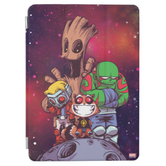 Guardians of the Galaxy | Crew On Asteroid iPad Air Cover