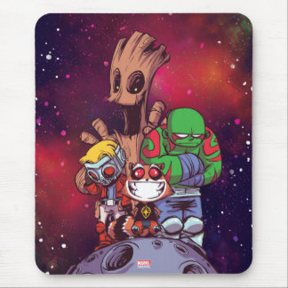 Guardians of the Galaxy | Crew On Asteroid Mouse Pad