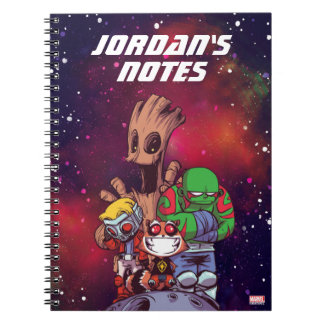 Guardians of the Galaxy | Crew On Asteroid Notebook