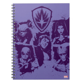 Guardians of the Galaxy | Crew Paint Grid Notebook