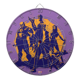 Guardians of the Galaxy | Crew Paint Silhouette Dartboard