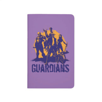 Guardians of the Galaxy   Crew Paint Silhouette Journal