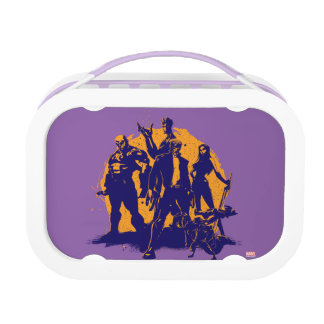 Guardians of the Galaxy | Crew Paint Silhouette Lunch Boxes