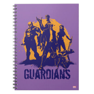 Guardians of the Galaxy | Crew Paint Silhouette Notebook