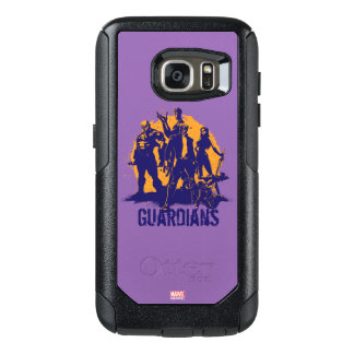 Guardians of the Galaxy | Crew Paint Silhouette OtterBox Samsung Galaxy S7 Case