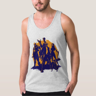 Guardians of the Galaxy | Crew Paint Silhouette Singlet