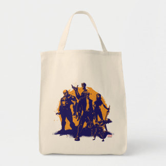 Guardians of the Galaxy | Crew Paint Silhouette Tote Bag