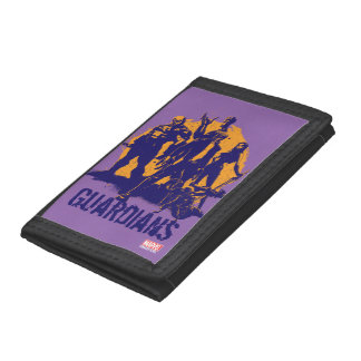Guardians of the Galaxy | Crew Paint Silhouette Trifold Wallet