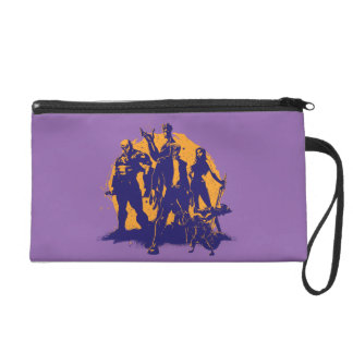 Guardians of the Galaxy | Crew Paint Silhouette Wristlet
