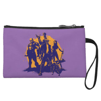 Guardians of the Galaxy | Crew Paint Silhouette Wristlet Purses