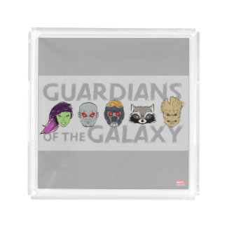 Guardians of the Galaxy | Crew Rough Sketch Acrylic Tray