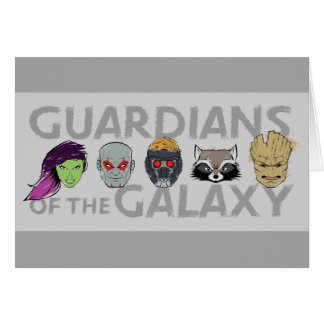 Guardians of the Galaxy | Crew Rough Sketch Card