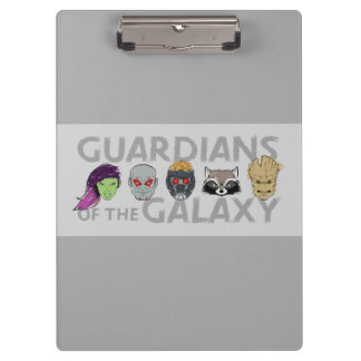 Guardians of the Galaxy | Crew Rough Sketch Clipboard