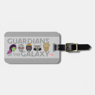Guardians of the Galaxy | Crew Rough Sketch Luggage Tag