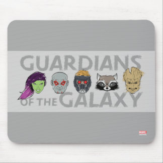 Guardians of the Galaxy   Crew Rough Sketch Mouse Pad