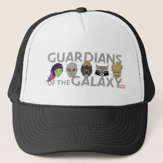 Guardians of the Galaxy | Crew Rough Sketch Trucker Hat