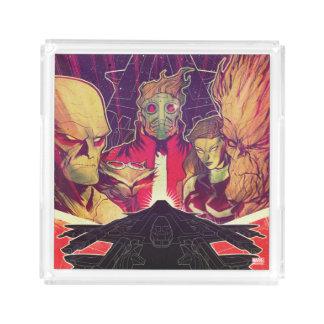 Guardians of the Galaxy | Crew & Ship Art Acrylic Tray