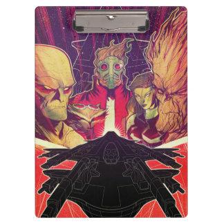 Guardians of the Galaxy | Crew & Ship Art Clipboard