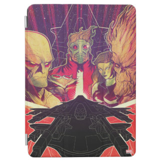 Guardians of the Galaxy | Crew & Ship Art iPad Air Cover