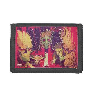 Guardians of the Galaxy | Crew & Ship Art Tri-fold Wallet