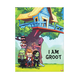 Guardians of the Galaxy | Crew & Treehouse Canvas Print