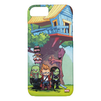 Guardians of the Galaxy | Crew & Treehouse iPhone 8/7 Case
